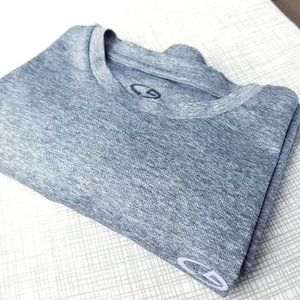 Champion -- Duo Dry Workout T-Shirt, Gray (S)